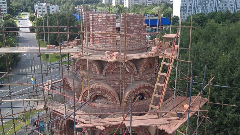 Всамом начале нынешнего года в российской столице построили семь православных храмов